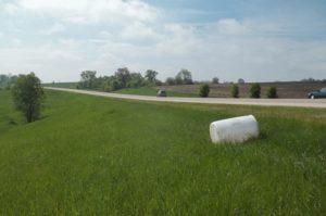 HazMat packaging along highway