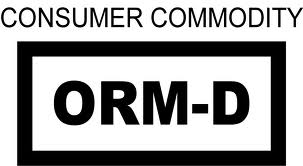 Consumer Commodity ORM-D Label