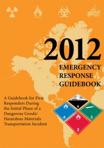 A shipper of a hazardous material must provide the carrier with the emergency response information contained in the orange pages of the emergency response guidebook