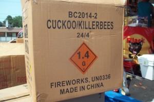 UN0336, Fireworks