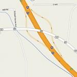 Location of HazMat Incident near Hixton, WI