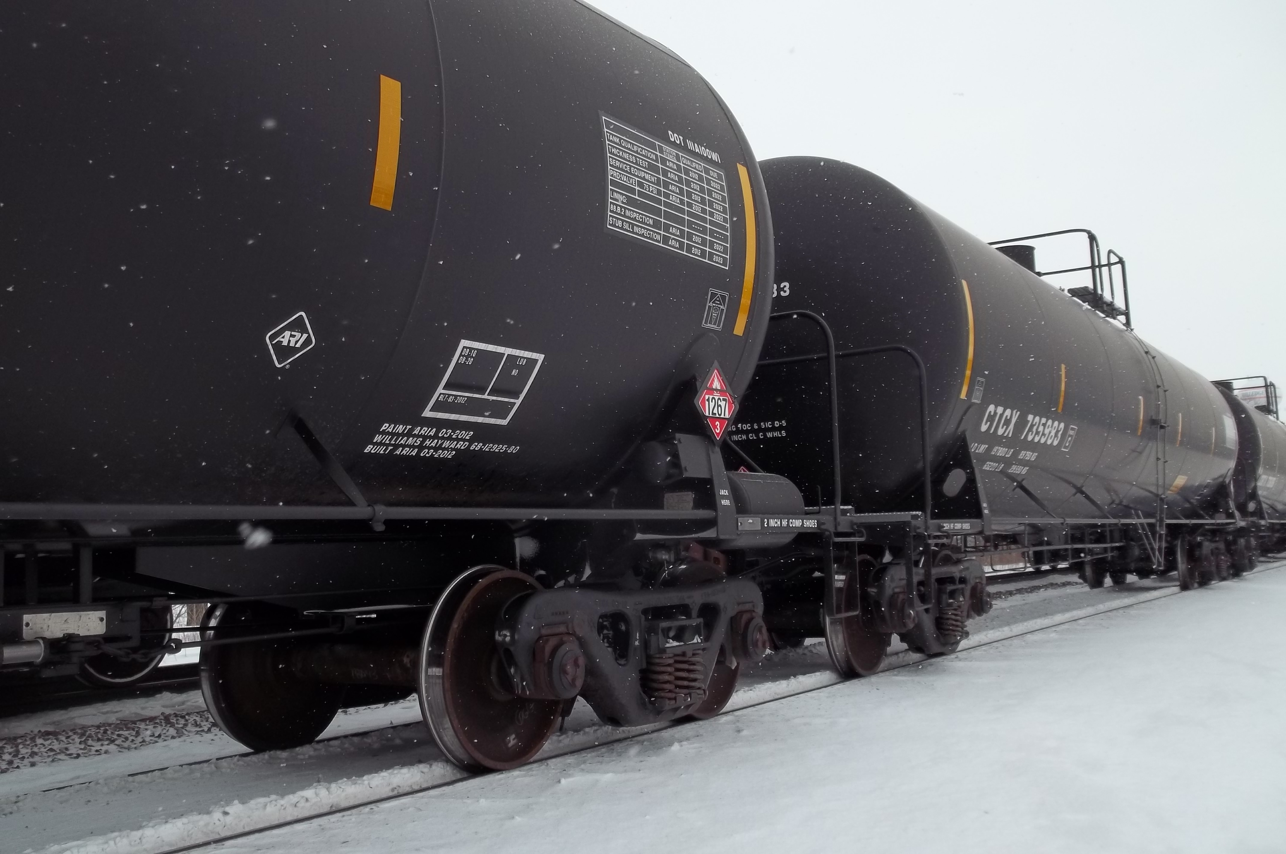 Loading and Unloading of Rail Tank Cars