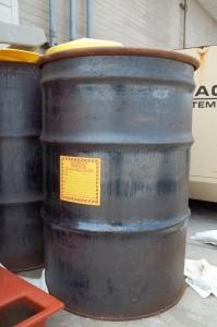 Hazardous waste container
