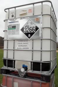 Intermediate bulk container of HazMat