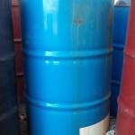Container of hazardous material in poor condition