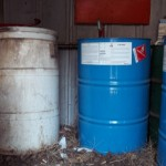 Containers of Flammable Liquid