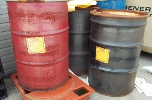 hazardous waste containers