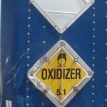 Class 5 Oxidizer placard
