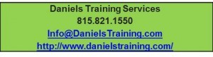 Contact Information for Daniels Training Services