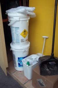 HazMat for pool maintenance