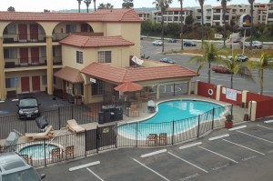 Clean pool at Best Western Mission Bay