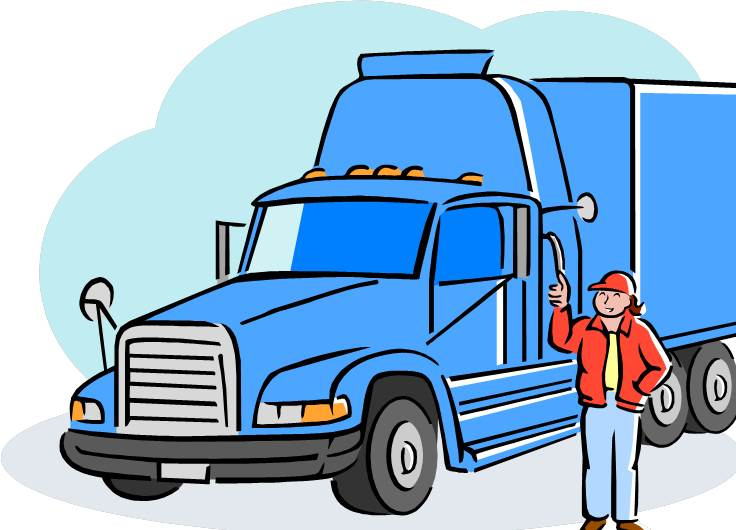 Truck Driver Clip Art Training hazmat drivers in hijacking prevention ...