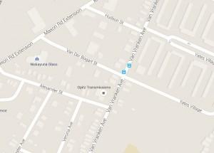 Map of Van Der Bogart Street in Schenectady, NY