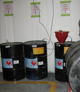 Correct Management of Hazardous Waste Containers