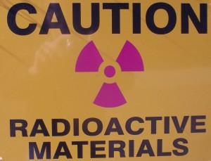 Caution Radioactive Materials