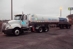Cargo Tank Truck of Compressed Gas