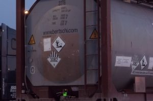 portable tank marine pollutant mark