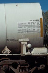 Rail Car UN1805 Phosphoric Acid Soln