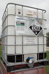 UN3266 in Intermediate Bulk Container (IBC)