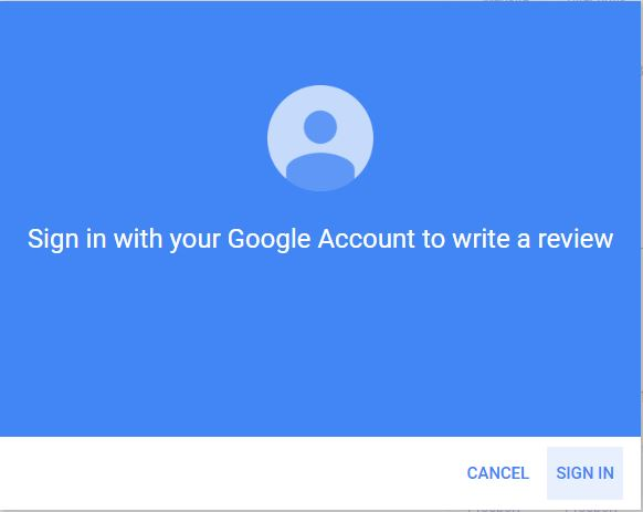 write a review for a business on google