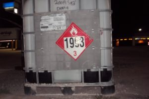 UN1993 in Intermediate Bulk Container