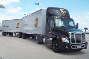 UPS tandem trailer