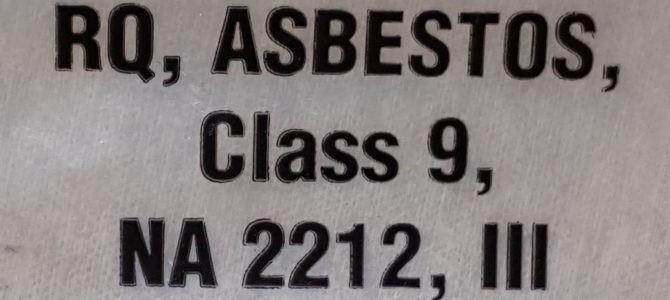 FAQ: Is Asbestos Waste a Hazardous Material? A Hazardous Waste?