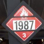 Class 3 Placard 1987