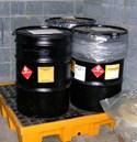 Hazardous waste lab pack drums