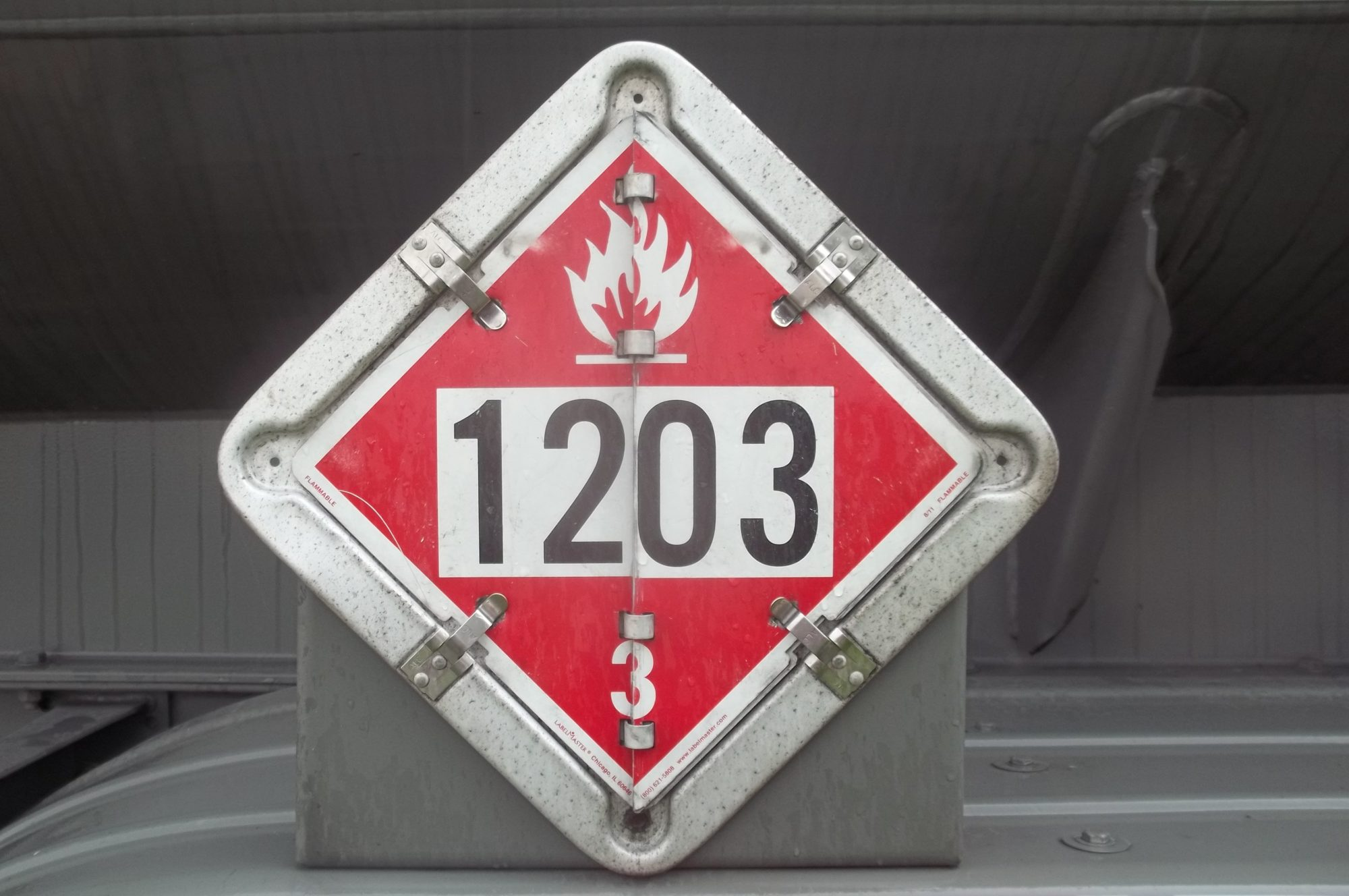 Hazmat employee training daniels training services placard and id number for gasoline biocorpaavc Choice Image