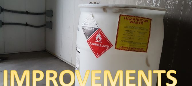 Marking and Labeling of Hazardous Waste Accumulation Units Under the Generator Improvements Rule
